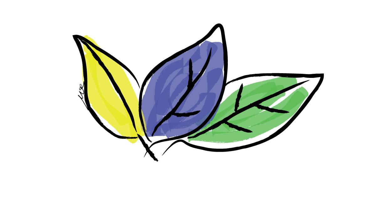 leaf-digital-waercolor-image
