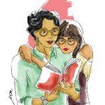 couple_reading_book_together_illustration_cinmu