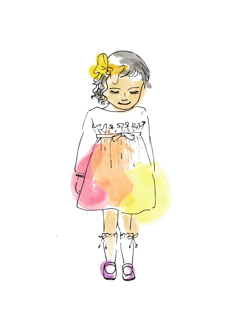 kids illustration digital watercolour